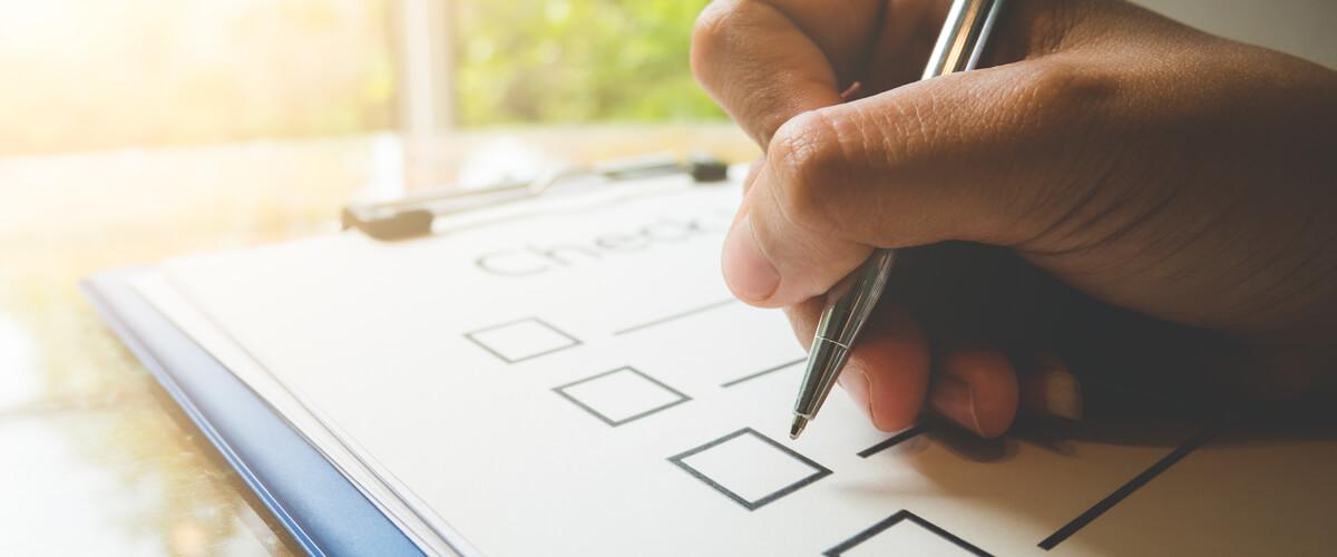Checkliste Patientenverfügung: Die 6 wichtigsten Punkte