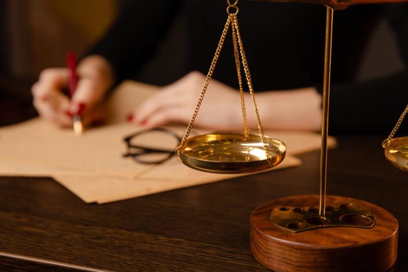 Richter Waage Unterschrift Notar