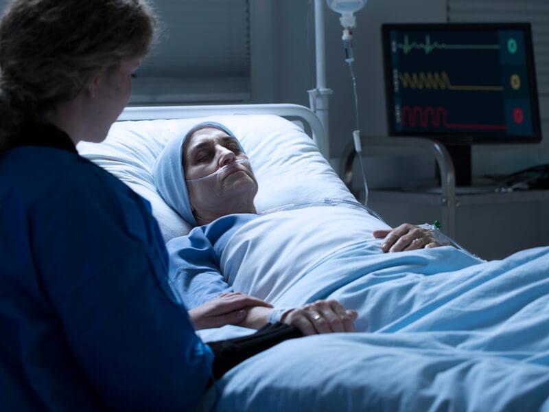 Patientenverfügung BGH-Urteil: Patient im Koma