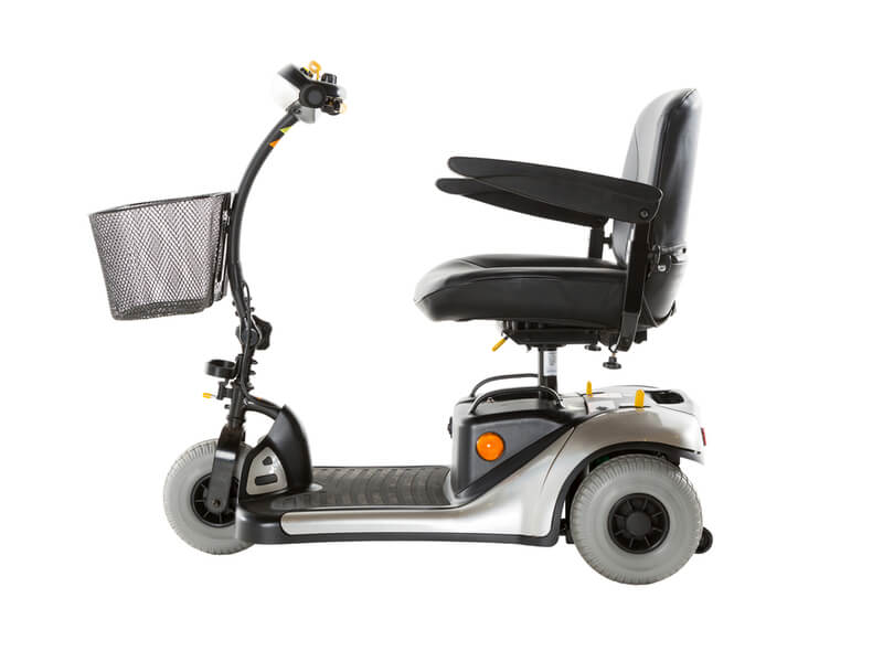Elektromobil mit drei Rädern