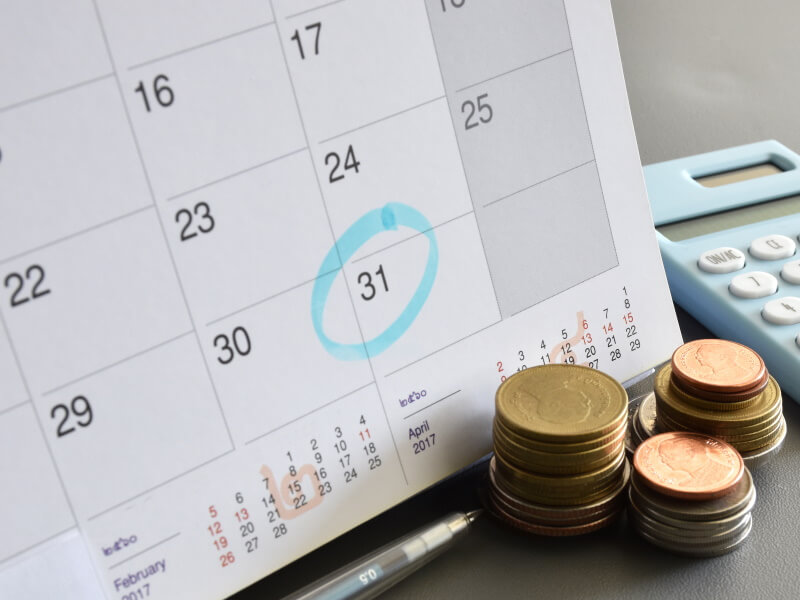 Berufsunfähigkeitsversicherung leistet monatliche Auszahlung