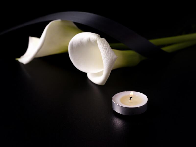 Beisetzung Blumen