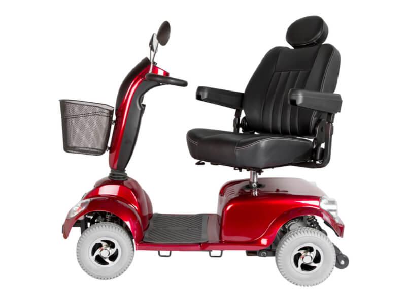 Elektromobil mit vier Rädern