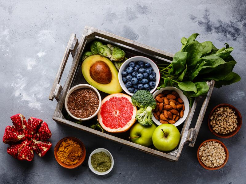 Gesunde Lebensmittel, die gegen die Fettleber wirken