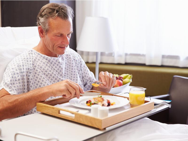 Leckeres Essen durch eine Krankenhauszusatzversicherung